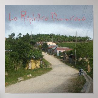La Republica Dominicana The Dominican Republic Print