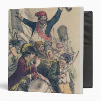 "La Republique, 1848 de Vive Carpeta 1 1/2"""