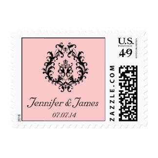 La reserva personalizada los sellos de la fecha pi