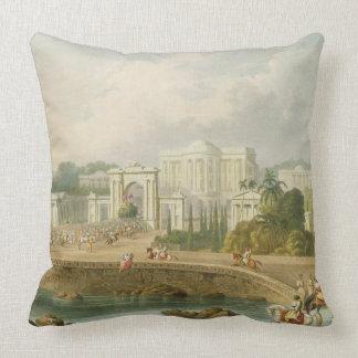 La residencia británica en Hyderabad en 1813, de V Almohadas