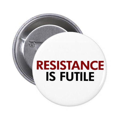 La resistencia es botón vano pin redondo de 2 pulgadas