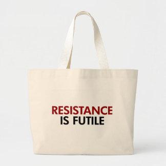 La resistencia es la bolsa de asas vana