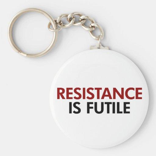 La resistencia es llavero vano