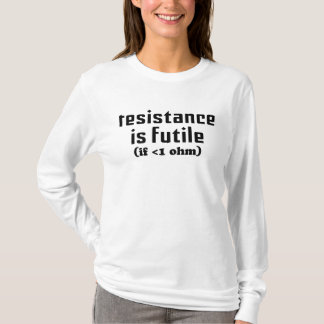 La resistencia es sudadera con capucha vana de las