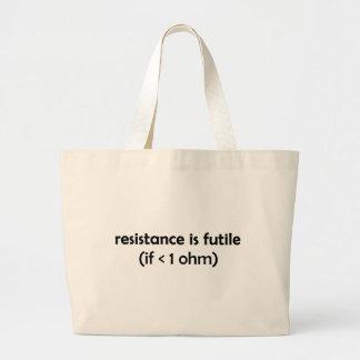 la resistencia es vana bolsa