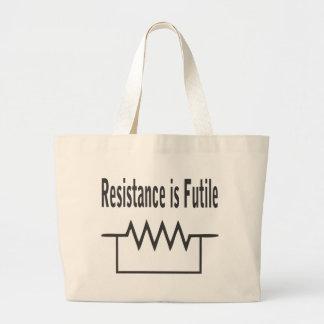 La resistencia es vana bolsas