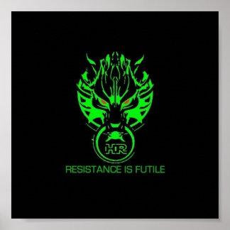 La resistencia es vana poster