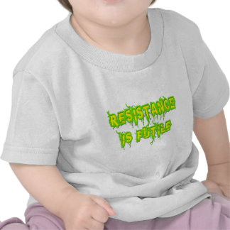 La resistencia es vana camisetas