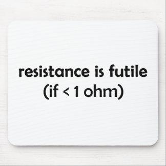 la resistencia es vana tapetes de ratones