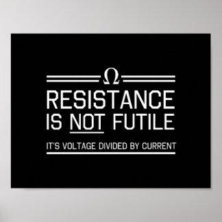 La resistencia no es vana posters