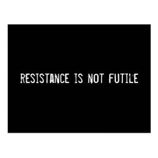 la resistencia no es vana tarjetas postales