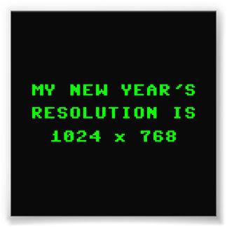 La resolución de pantalla 1024x768 del Año Nuevo Impresiones Fotograficas