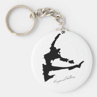 La respiración de un bailarín llaveros personalizados