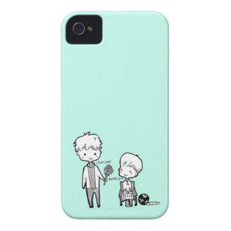 La respiración del bebé (iPhone 3Gs) iPhone 4 Case-Mate Cobertura