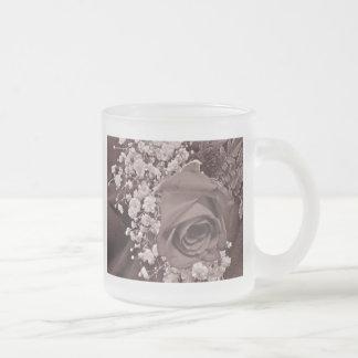 La respiración del bebé y subió - brezo taza de café