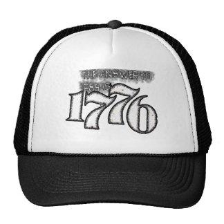 La respuesta a 1984 es 1776 gorros bordados