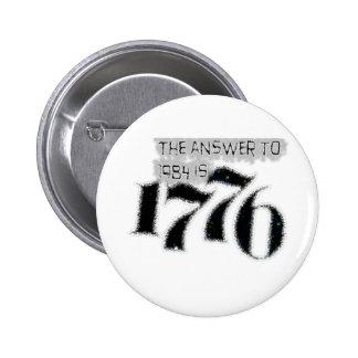 La respuesta a 1984 es 1776 pins