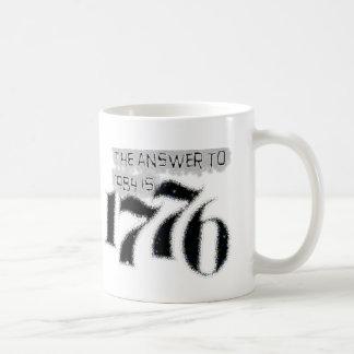 La respuesta a 1984 es 1776 tazas de café