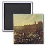 La restauración de Charles II en Whitehall Imán Cuadrado