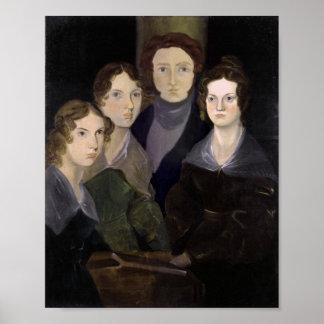 La restauración del retrato del pilar de la famili póster
