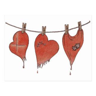 La resucitación de los corazones tarjeta postal