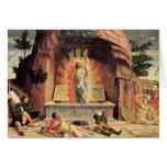 La resurrección 2 tarjeta de felicitación