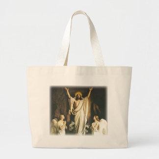 La resurrección bolsas lienzo