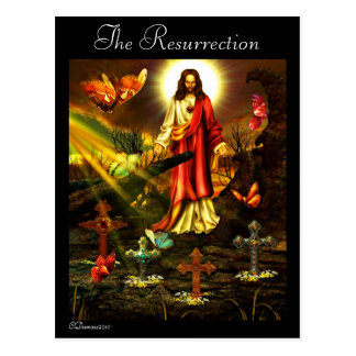 La resurrección. /Cards Postales