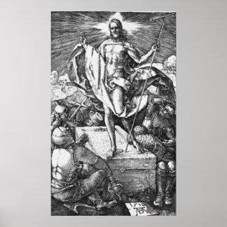 La resurrección de Albrecht Durer Poster