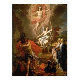 La resurrección de Cristo, 1700 Postal