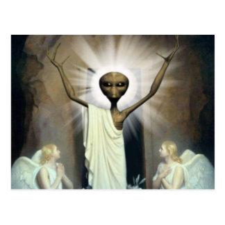 La resurrección de Jesús extranjero Postal