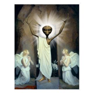 La resurrección de Jesús extranjero Tarjeta Postal