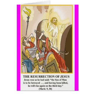 La resurrección de Jesús Felicitacion