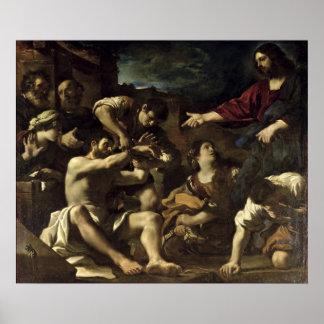 La resurrección de Lazarus, c.1619 Impresiones