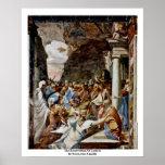 La resurrección de Lazarus de Boccaccino Camillo Poster