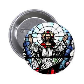 La resurrección de nuestro señor (vitral) pin