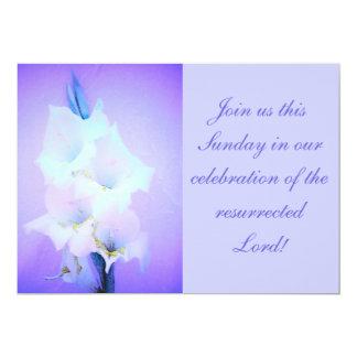 """La resurrección domingo de Pascua invita Invitación 5"""" X 7"""""""