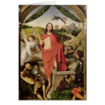 La resurrección tarjeta de felicitación