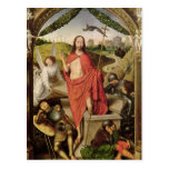 La resurrección tarjeta postal