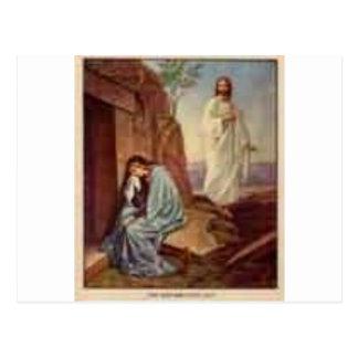 La resurrección tarjetas postales