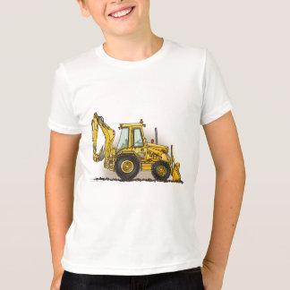 La retroexcavadora embroma la camiseta poleras