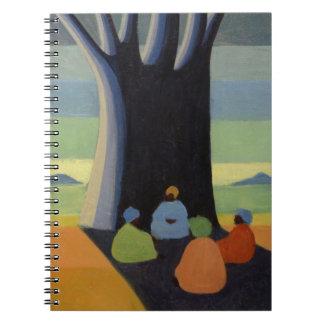 La reunión 2005 libros de apuntes con espiral