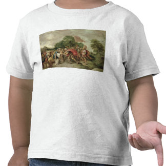 La reunión de Abraham y de Melchizedek Camiseta