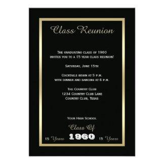 La reunión de clase de secundaria invita - cualqui