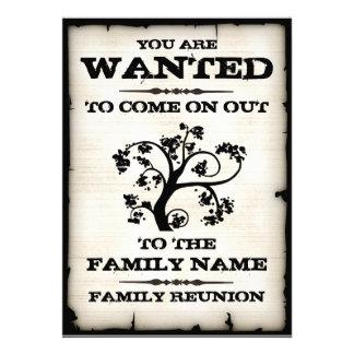 La reunión de familia quiso invitaciones