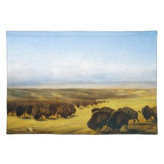 La reunión de las manadas manteles individuales