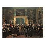 La reunión de los poetas, 1846 postales