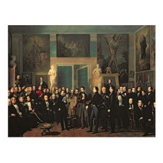 La reunión de los poetas, 1846 tarjetas postales