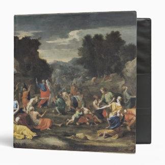 """La reunión del maná, c.1637-9 carpeta 1 1/2"""""""