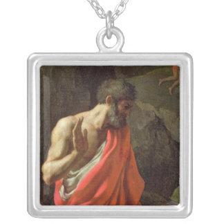 La reunión del maná, c.1637-9 collar plateado